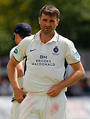 June 11th 2017, Trafalgar Road Ground, Southport, England; Specsavers County Championship Division One; Day Three; Lancashire versus Middlesex; Tim Murtagh of Middlesex finished with figures of 6-60 as Lancashire were bowled out for 309 on the third day