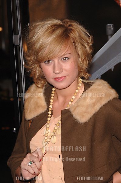 """Actress BRIE LARSON at the Los Angeles premiere of """"Snakes on a Plane"""" at the Chinese Theatre, Hollywood..August 17, 2006  Los Angeles, CA.© 2006 Paul Smith / Featureflash"""