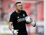 Darren Ward Sheffield Utd goal keeper coach during the English Championship League match at Bramall Lane Stadium, Sheffield. Picture date: August 5th 2017. Pic credit should read: Simon Bellis/Sportimage