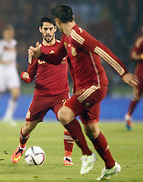 Spain's Isco during international friendly match.November 18,2014. (ALTERPHOTOS/Acero) /NortePhoto<br /> NortePhoto.com