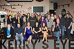 HAPPY BIRTHDAY: Mary O'Sullivan Parkmore, Currow (seated 3rd left celebrated her 30th birthday with her family and friends in Martin's bar, Castleisland on Tuesday 29th December.