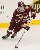 Makenna Newkirk (BC - 19) - The visiting Boston College Eagles defeated the Harvard University Crimson 2-0 on Tuesday, January 19, 2016, at Bright-Landry Hockey Center in Boston, Massachusetts.