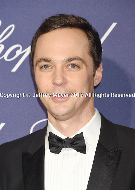 PALM SPRINGS, CA - JANUARY 02: Actor  Jim Parsons attends the 28th Annual Palm Springs International Film Festival Film Awards Gala at the Palm Springs Convention Center on January 2, 2017 in Palm Springs, California.