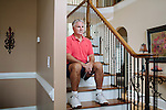 Don Harvel, a retired United States Air Force Brigadier General, poses for a portrait in his Newnan, Georgia home October 3, 2012. Harvel believes he was forced into retirement for his outspoken criticism of the Osprey Tilt Rotor Aircraft debacle.