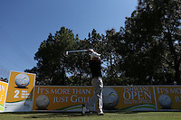 Adilson Da Silva (BRA) off the second tee during the practice day ahead of the Tshwane Open 2015 at the Pretoria Country Club, Waterkloof, Pretoria, South Africa. Picture:  David Lloyd / www.golffile.ie. 10/03/2015