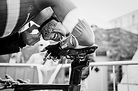 Lasse Norman Hansen(DEN/Aqua Blue) post-finish<br /> <br /> Men Elite Individual Time Trial<br /> <br /> UCI 2017 Road World Championships - Bergen/Norway