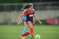 Boyds, MD - Saturday June 25, 2016: Estefania Banini during a United States National Women's Soccer League (NWSL) match between the Washington Spirit and Sky Blue FC at Maureen Hendricks Field, Maryland SoccerPlex.