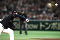 Ayumu Ishikawa (JPN), <br /> MARCH 12, 2017 - WBC : 2017 World Baseball Classic Second Round Pool E Game between <br /> Japan 8-6 Netherlands <br /> at Tokyo Dome in Tokyo, Japan. <br /> (Photo by Sho Tamura/AFLO SPORT)