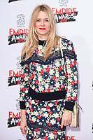 Edith Bowman at the Empire Film Awards 2017 at The Roundhouse, Camden, London, UK. <br /> 19 March  2017<br /> Picture: Steve Vas/Featureflash/SilverHub 0208 004 5359 sales@silverhubmedia.com