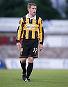 East Fife's player /  manager Gary Naysmith.
