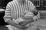 Prison UK 1986. New mother with her baby, born in the prison. HM Prison Styal Wilmslow Cheshire 1980s. England