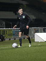 Eoghan O'Connell in the St Mirren v Celtic Clydesdale Bank Scottish Premier League U20 match played at St Mirren Park, Paisley on 18.12.12.