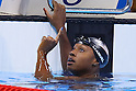 Simone Manuel (USA), AUGUST 11, 2016 - Swimming : <br /> Women's 100m Freestyle Final <br /> at Olympic Aquatics Stadium <br /> during the Rio 2016 Olympic Games in Rio de Janeiro, Brazil. <br /> (Photo by Yohei Osada/AFLO SPORT)