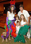 Nick and Erin Florescu with their children Isabella,9, Nicky,7, and Ava,4, and the family dog Baloo at the Citizens for Animal Protection owner/pet fashion show at the Hilton Americas Houston Saturday June 06,2009.(Dave Rossman/For the Chronicle)
