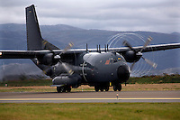 Transall C-160G military transport aircraft of the French Air Force, Armée de l'air. BOLD AVENGER 2007 (BAR 07), a NATO  air exercise at Ørland Main Air Station, Norway. BAR 07 involved air forces from 13 NATO member nations: Belgium, Canada, the Czech Republic, France, Germany, Greece, Norway, Poland, Romania, Spain, Turkey, the United Kingdom and the United States of America. The exercise was designed to provide training for units in tactical air operations, involving over 100 aircraft, including combat, tanker and airborne early warning aircraft and about 1,450 personnel.