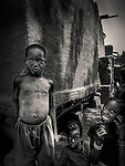 West, Africa, Mali,Poromani village