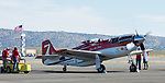 James Comsalvi fires up 2015 winner Strega  during the National Championship Air Races in Reno, Nevada on Wednesday, September 13, 2017.