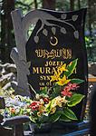 Stary cmentarz tatarski (mizar) w Kruszynianach, Polska<br /> The Tatar Cemetery in Kruszyniany, Poland