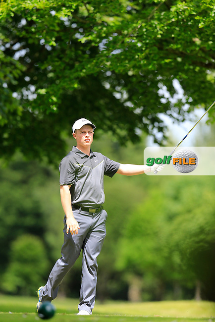 Conor Purcell (Portmarnock) during the final round of the 2015 Irish Boys Amateur Open Championship, Tuam Golf Club, Tuam, Co Galway. 26/06/2015<br /> Picture: Golffile | Fran Caffrey