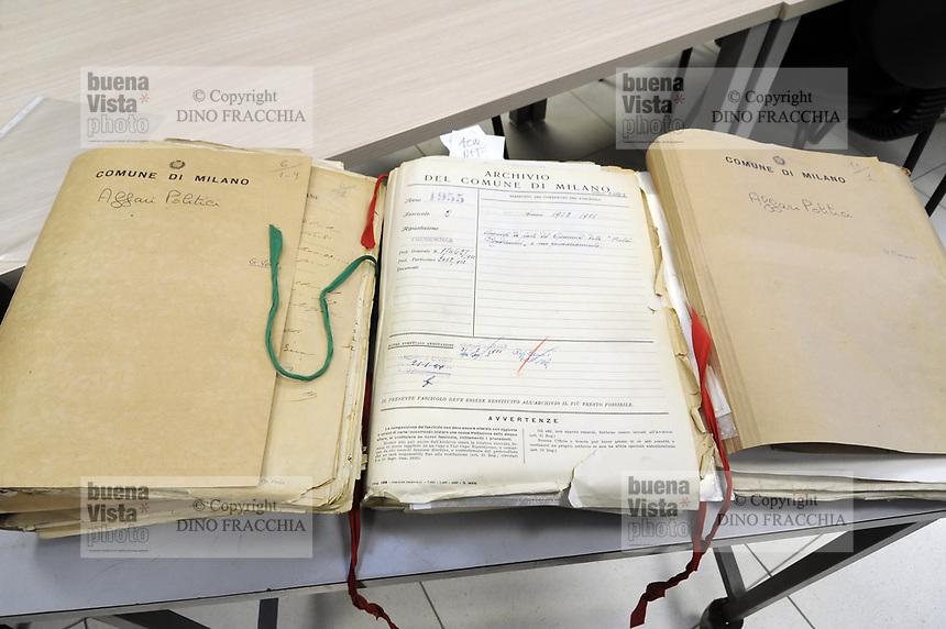 - Archivio generale dei documenti del Comune di Milano; documenti storici<br /> <br /> - General archive of documents of the Milan Municipality; historical documents