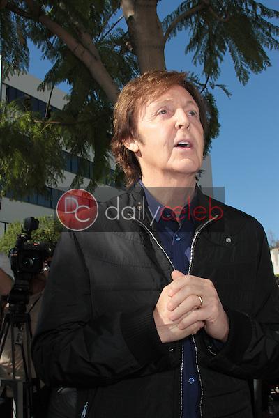 Paul McCartney<br /> at the Paul McCartney Star on The Hollywood Walk Of Fame Ceremony, Hollywood, CA 02-09-12<br /> David Edwards/DailyCeleb.com 818-249-4998