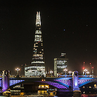 Lo Shard e il Blackfriars Bridge