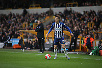 Solly March of Brighton & Hove Albion during Wolverhampton Wanderers vs Brighton & Hove Albion, Premier League Football at Molineux on 7th March 2020