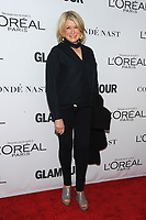BROOKLYN, NY - NOVEMBER 13: Martha Stewart  at Glamour's 2017 Women Of The Year Awards at the Kings Theater in Brooklyn, New York City on November 13, 2017. <br /> CAP/MPI/JP<br /> &copy;JP/MPI/Capital Pictures