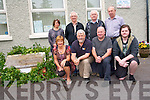 Killorglin Archive Society are seeking the public's help with any information they might have on an old school plaque discovered recently on a farm in Castlemaine. <br /> Front L-R Kay Woods, Johnny O'Connor (chairman), Terence Houlihan (trustee) and Paul Bialachowski (photographer). <br /> Back L-R Tracy Spencer (archivist), Austin O'Reilly (vice-chair), Patrick Rochfort (president) and Pasty Joy.