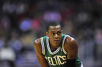 Celtics' Rajon Rondo gets a breather. Boston defeated Washington 89-86 at the Verizon Center in Washington, D.C. on Saturday, November 3, 2012.  Alan P. Santos/DC Sports Box