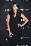 Actress Cecily Strong from SNL arrives at the 2017 Clio Awards in The Tent at Lincoln Center in New York City on September 27, 2017.