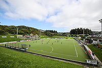 General View during the National Hockey League, Day One action, National Hockey Stadium, Wellington, New Zealand. Saturday 15 September 2018. Photo: Simon Watts/www.bwmedia.co.nz/Hockey NZ