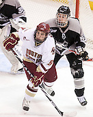 Barry Almeida (BC - 9), Daniel New (Providence - 55) - The Boston College Eagles defeated the Providence College Friars 4-1 on Tuesday, January 12, 2010, at Conte Forum in Chestnut Hill, Massachusetts.