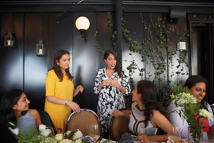 New York, NY - September 24, 2016:  Baby shower for Shaira Sithian on the roof at The NoMad Hotel.<br /> <br /> CREDIT: Clay Williams.<br /> <br /> &copy; Clay Williams / claywilliamsphoto.com