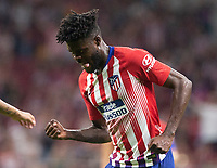 Thomas Partey of Atletico Madrid during the match between Atletico Madrid v SD Huesca of LaLiga, 2018-2019 season, date 6. Wanda Metropolitano Stadium. Madrid, Spain - 25 September 2018. Mandatory credit: Ana Marcos / PRESSINPHOTO