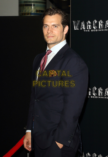 Henry Cavill at the Special Screening of Warcraft: The Beginning at the BFI IMAX London, England, UK, on 25 May 2016<br /> CAP/ROS<br /> &copy;Steve Ross/Capital Pictures