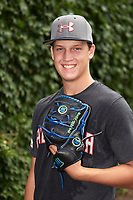 Hunter Ruth (24) of F.W. Buchholz High School in Gainesville, Florida poses for a photo before the Under Armour All-American Game presented by Baseball Factory on July 23, 2016 at Wrigley Field in Chicago, Illinois.  (Mike Janes/Four Seam Images)