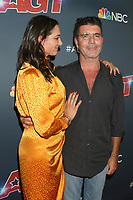 """LOS ANGELES - SEP 17:   Lauren Silverman, Simon Cowell at the """"America's Got Talent"""" Season 14 Live Show Red Carpet - Finals at the Dolby Theater on September 17, 2019 in Los Angeles, CA"""