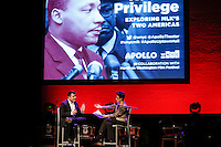 Jose Antonio Vargas PulitzerPrize-wining  speaks during a event to commemorate Martin Luther King's day at the Apollo Theater in New York. 17.01.2016. Kena Betancur/VIEWpress.