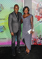 "01 August 2016 - New York, New York - Viola Davis, Julius Tennon. ""Suicide Squad"" World Premiere. Photo Credit: Mario Santoro/AdMedia"