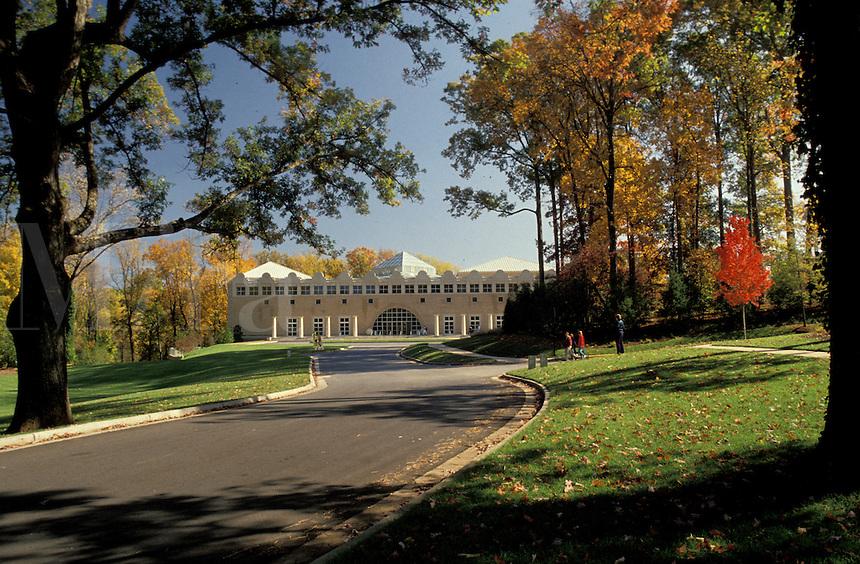 Georgia, GA, Atlanta, Fernbank Museum of Natural History in the autumn.