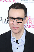 SANTA MONICA, CA - FEBRUARY 23: Fred Armisen at the 2013 Film Independent Spirit Awards at Santa Monica Beach on February 23, 2013 in Santa Monica, California. Credit: MediaPunch Inc.