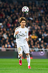 Luka Modric of Real Madrid during La Liga match between Real Madrid and Real Sociedad at Santiago Bernabeu Stadium in Madrid, Spain. February 06, 2020. (ALTERPHOTOS/A. Perez Meca)