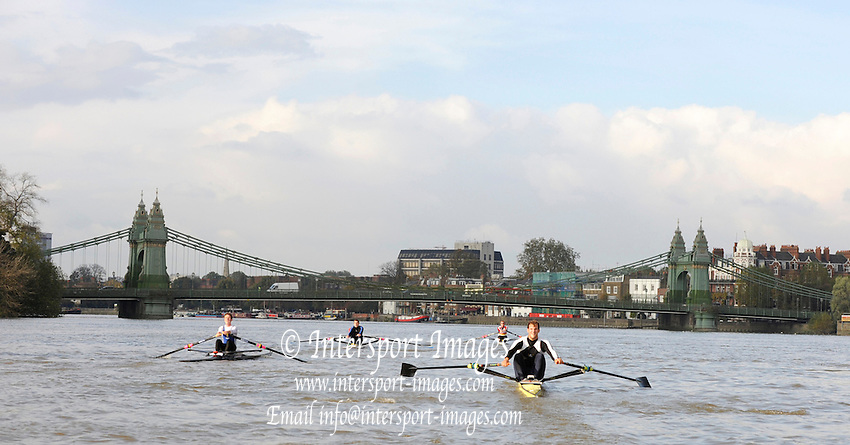 London GREAT BRITAIN,  Wingfield Sculls raced over the Championship Course, Putney to Chiswick, River Thames, [Photo, Peter Spurrier/Intersport-images] .. Rowing Course: River Thames, Championship course, Putney to Mortlake 4.25 Miles,