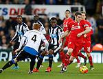 James Milner of Liverpool - English Premier League - Newcastle Utd vs Liverpool - St James' Park Stadium - Newcastle Upon Tyne - England - 6th December 2015 - Picture Simon Bellis/Sportimage