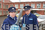 Garda Cathy Murphy and Garda Joe Ryan pictured at Tralee Garda Station on Tuesday to highlight Knife crime prevention week.