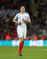Michael Keane of England<br /> <br /> Photographer Rob Newell/CameraSport<br /> <br /> FIFA World Cup Qualifying - European Region - Group F - England v Slovenia - Thursday 5th October 2017 - Wembley Stadium - London<br /> <br /> World Copyright &copy; 2017 CameraSport. All rights reserved. 43 Linden Ave. Countesthorpe. Leicester. England. LE8 5PG - Tel: +44 (0) 116 277 4147 - admin@camerasport.com - www.camerasport.com