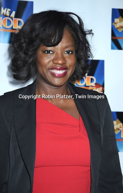 "actress Viola Davis attending the Broadway Opening Night of  ""Lend Me A Tenor"" on April 4, 2010 at The Music Box Theatre in New York City."