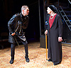 Richard III<br /> by William Shakespeare <br /> at Arcola Theatre, London, Great Britain <br /> Press photocall <br /> 12th May 2017 <br /> <br /> Greg Hicks as Richard <br /> <br /> Annie Firbank as Duchess of York <br /> <br /> <br /> <br /> <br /> <br /> Photograph by Elliott Franks <br /> Image licensed to Elliott Franks Photography Services