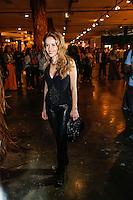 SAO PAULO, SP, 18 DE MARÇO DE 2013. SAO PAULO FASHION WEEK - PRIMAVERA/VERAO 2014 - CAVALERA - A atriz Leona Cavali durante  o desfile da marca Cavalera que fecha o primeiro dia de desfiles da São Paulo Fashion Week - verão 2014.  a atriz usa look completo da marca DTA. FOTO ADRIANA SPACA/BRAZIL PHOTO PRESS